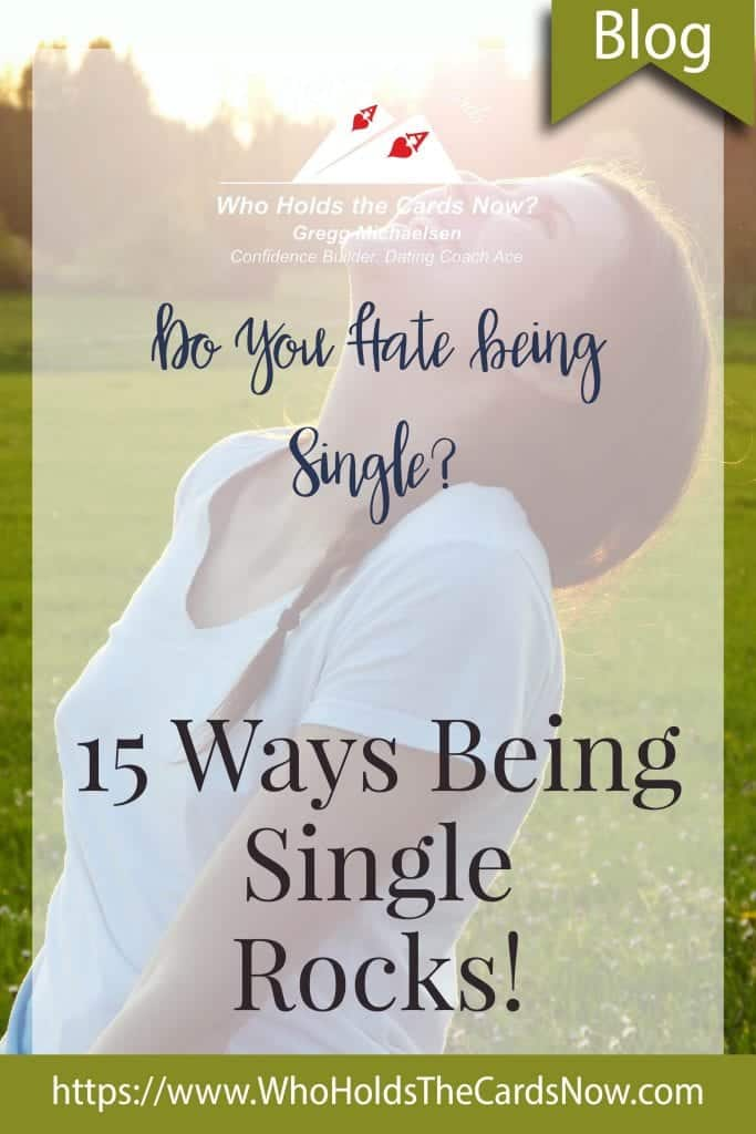 how to be okay with being single