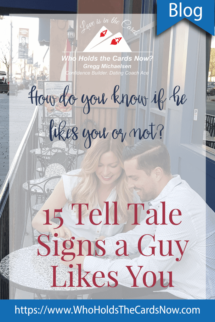 how to tell if a guy likes you