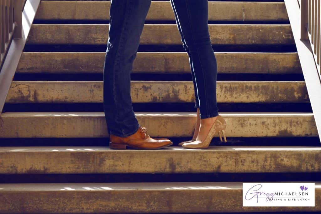A picture containing step, person, building, woman Description automatically generated