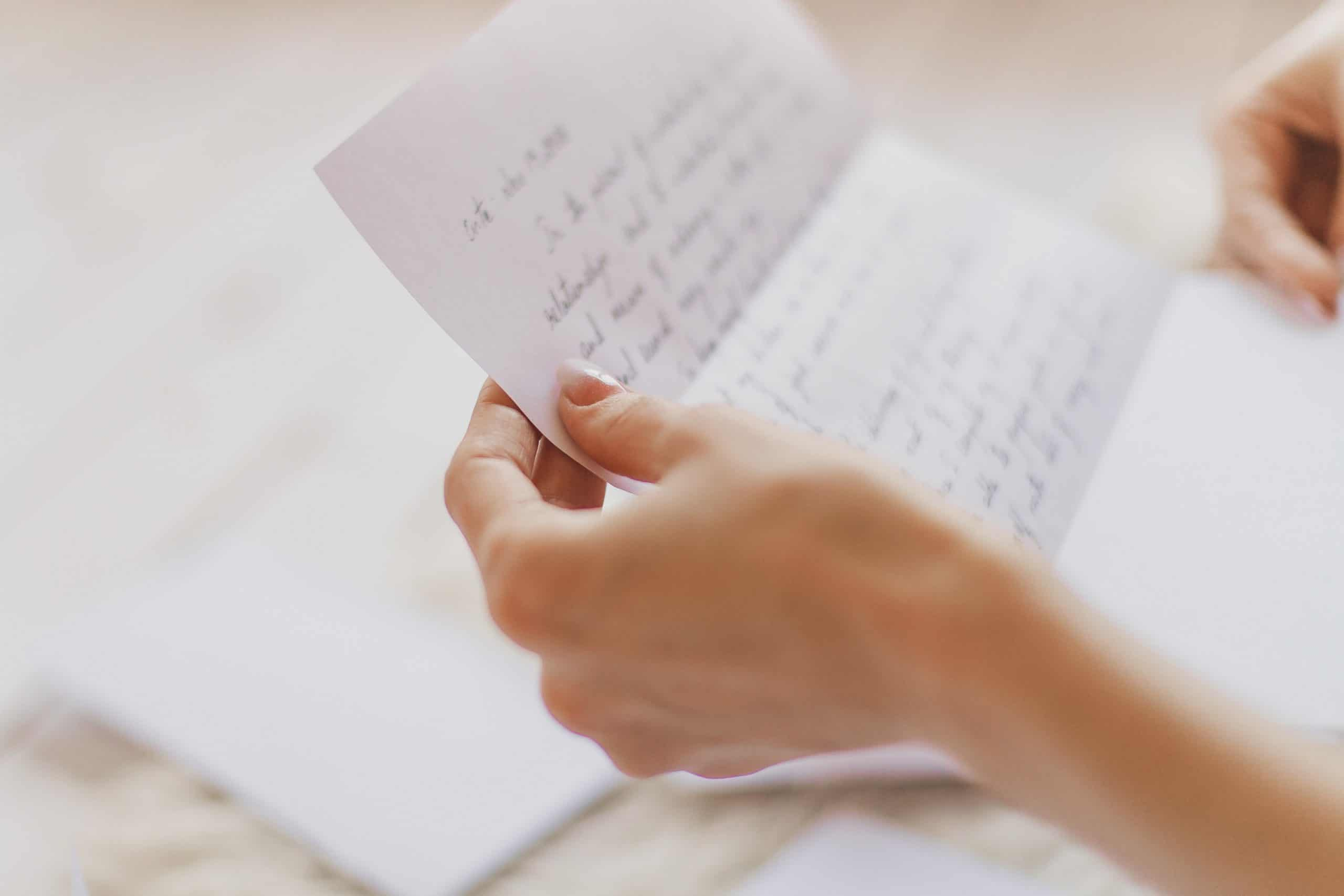 how to write a letter love